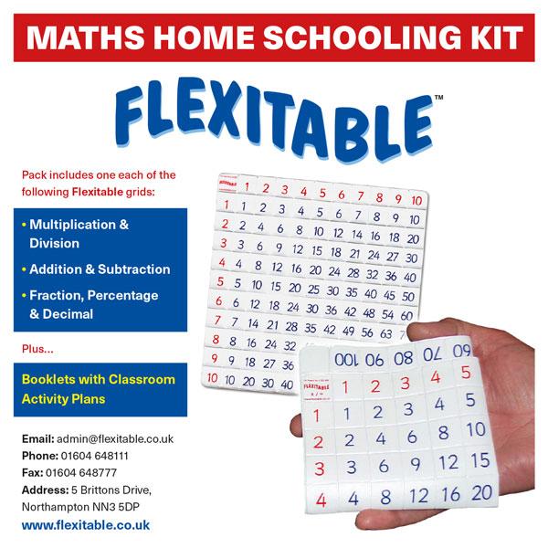 Flexitable Home Schooling Kit